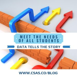 How do I Meet the Needs of ALL Students: Data Tells the Story