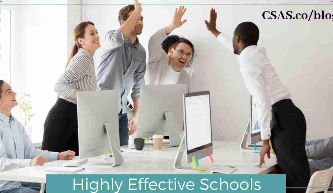 Highly Effective Schools