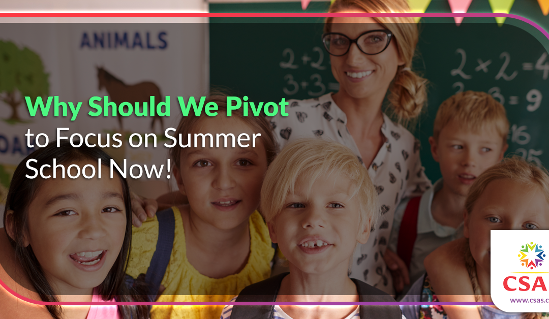 4 Questions to Consider as Your School Prepares for Summer School Through the COVID-19 Pandemic
